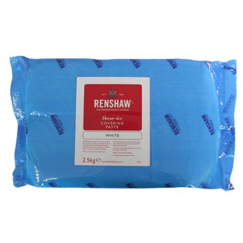 Renshaw Covering Sugarpaste 2.5 and 5 kilo packs. White , from £9.20